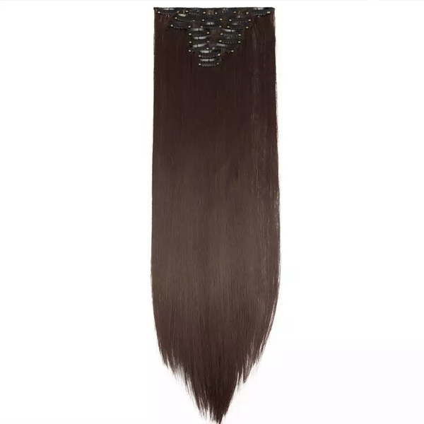 Clip In Hair Extensions Medium Brown Lexi Noel Beauty - lexinoelbeauty.com