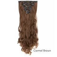Curly Wavy Hair Extensions Lexi Noel Beauty Multiple Colors 24 inches