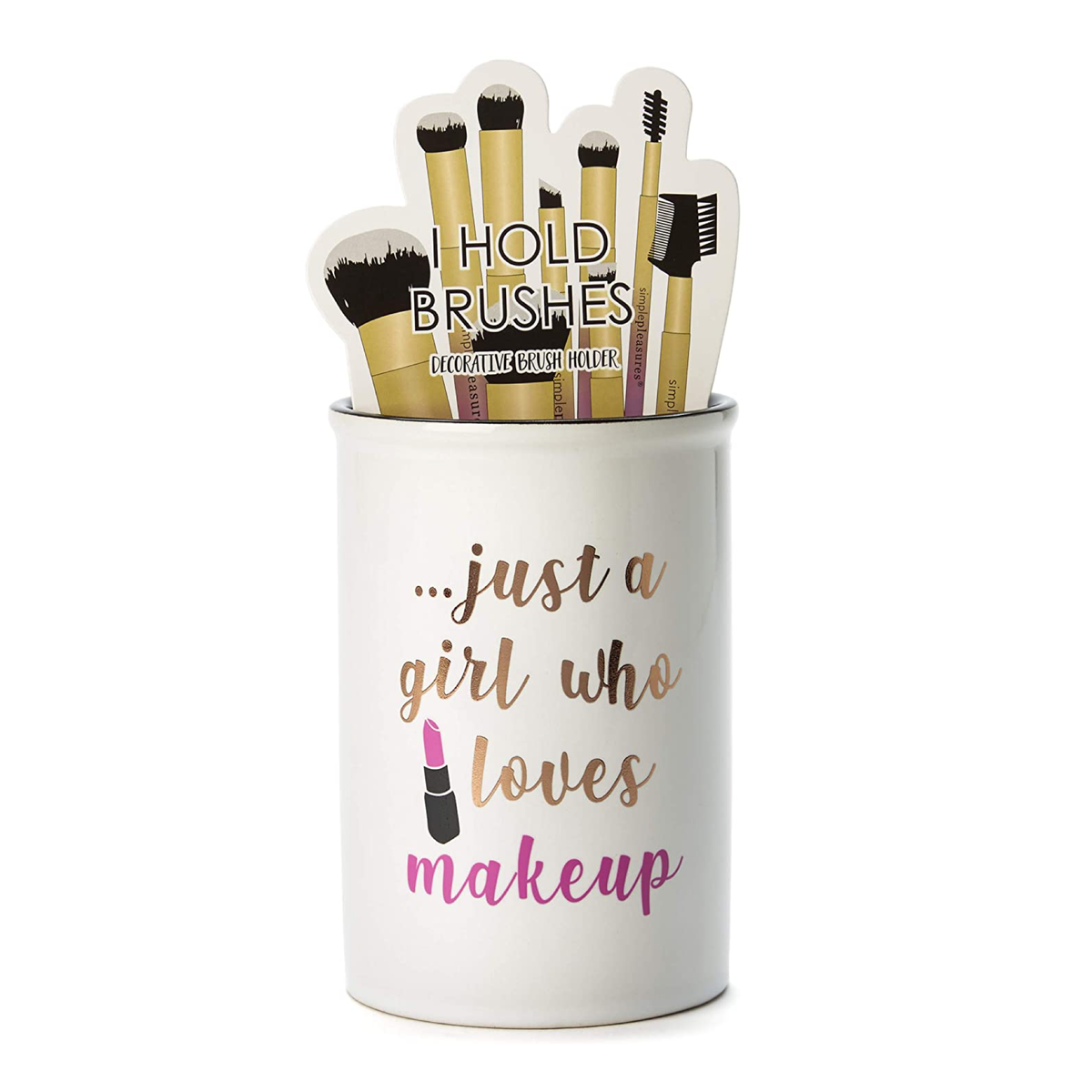 Makeup Brush Holder Just A Girl Who Loves Makeup