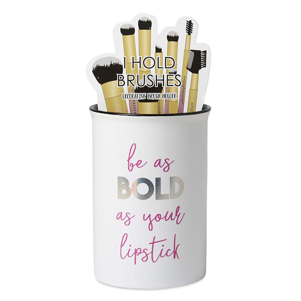 Makeup Brush Holder Be As Bold As Your Lipstick