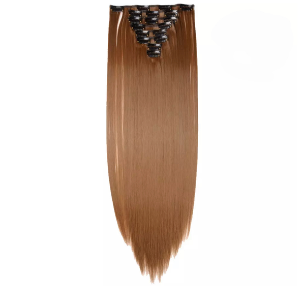 Clip In Hair Extensions Light Brown Lexi Noel Beauty - lexinoelbeauty.com