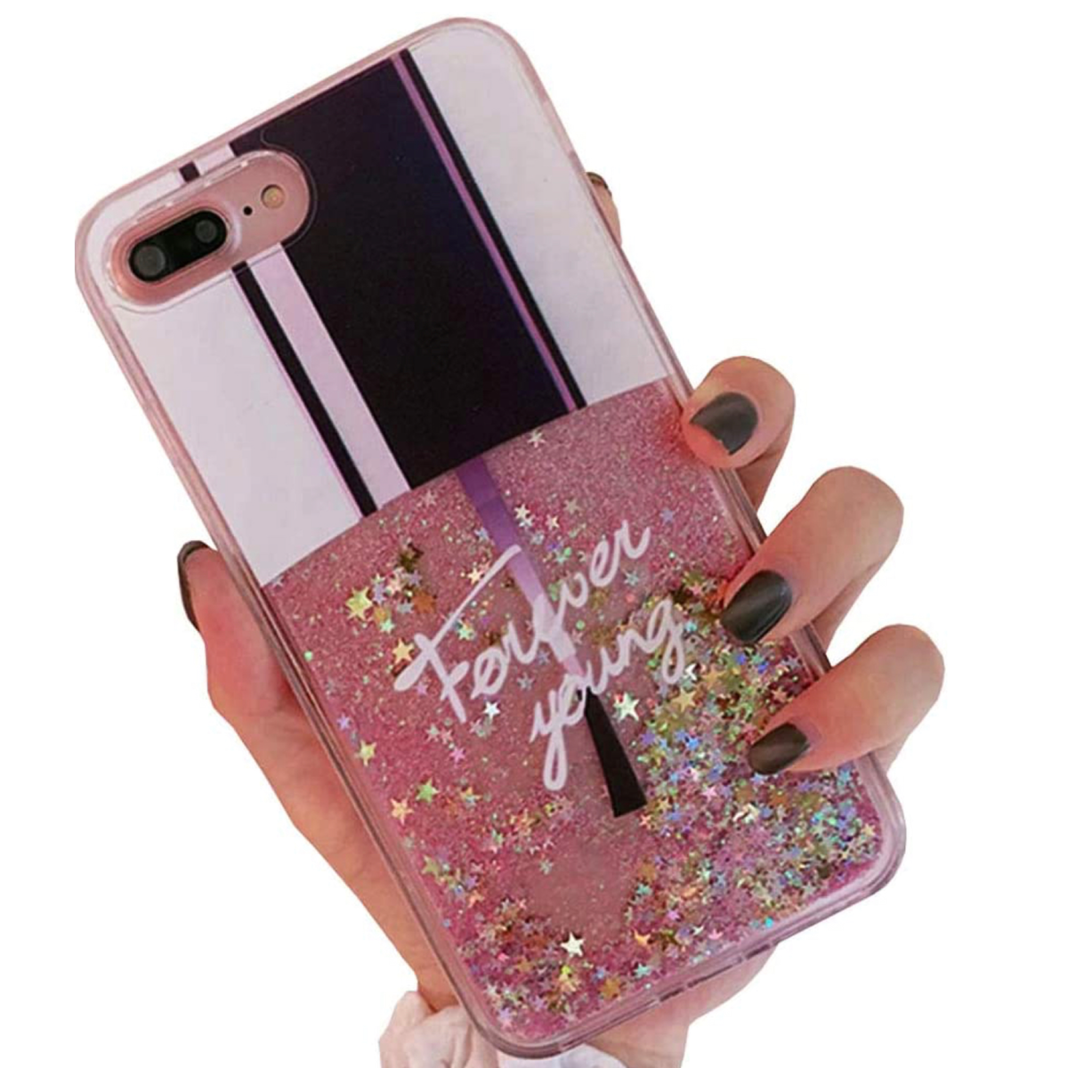 iPhone 11 Cellphone Phone Case Makeup Theme Pro Max Liquid Nail Polish