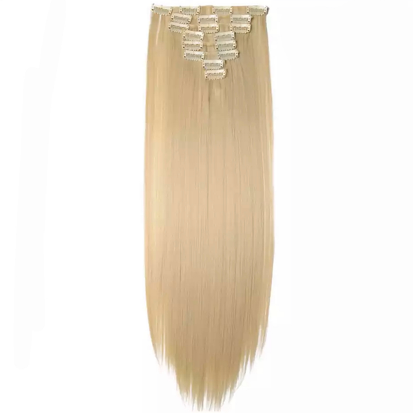 Bleach Blonde Clip In Hair Extensions Lexi Noel Beauty - lexinoelbeauty.com