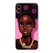 iPhone 11 Cellphone  Phone Case Makeup Theme Pro Max Melanin Black Girl