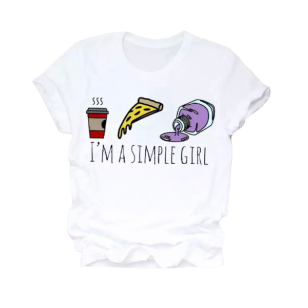 Simple Life T Shirt Clothing Theme