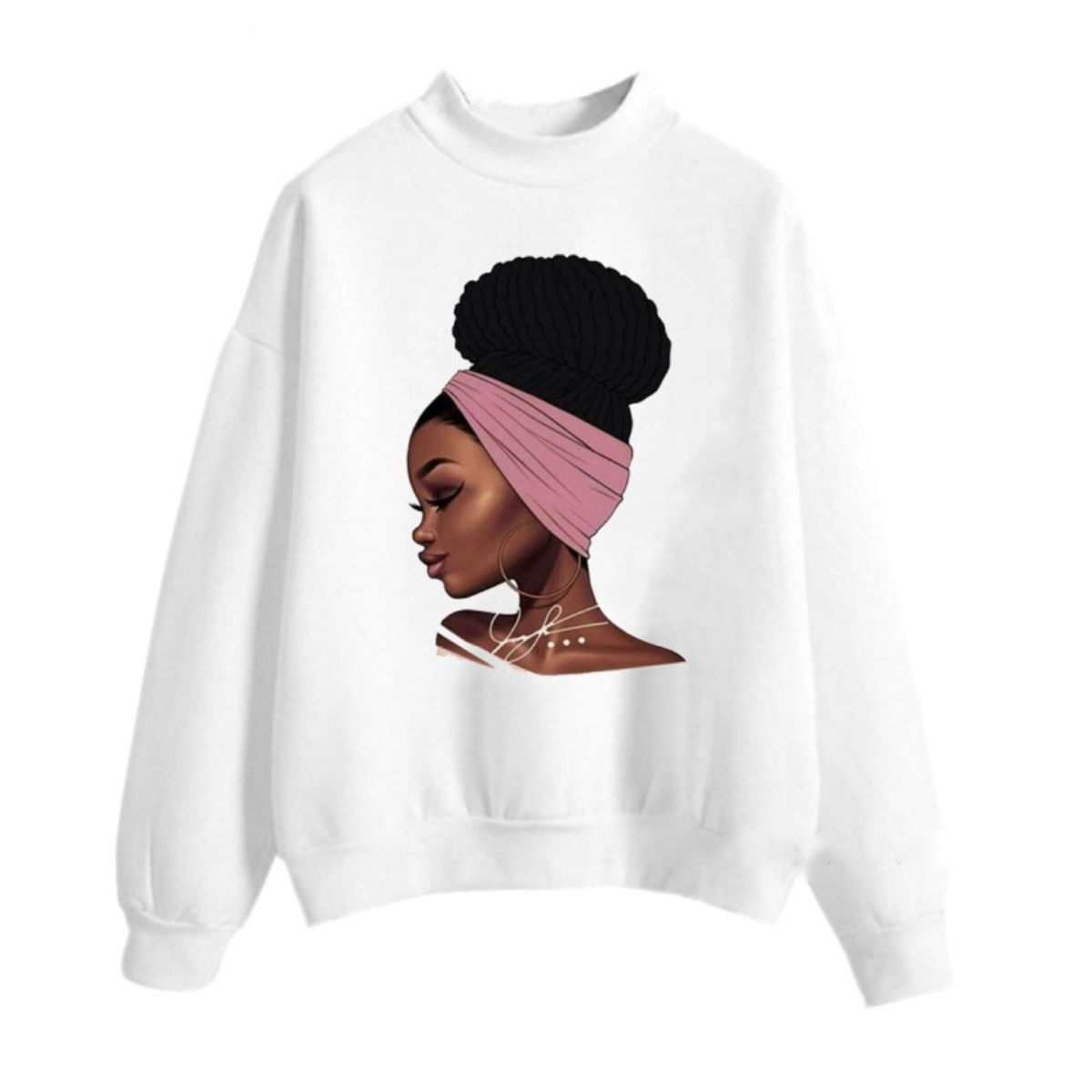 Melanin Black Girl Sweatshirt