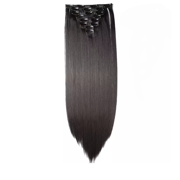 Clip In Hair Extensions Natural Black Lexi Noel Beauty - lexinoelbeauty.com