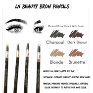 Waterproof Eye Brow Lexi Noel Beauty Pencils With Brush - lexinoelbeauty.com