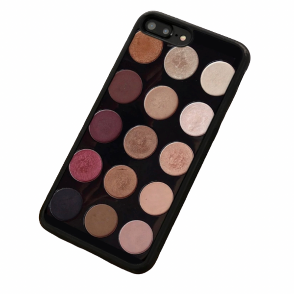 iPhone 11 Cellphone Phone Case Makeup Theme Pro Max Eyeshadows