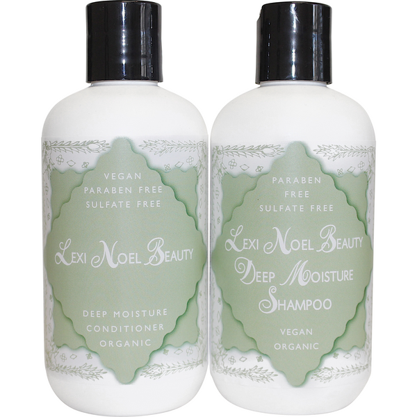 Lexi Noel Beauty Organic Vegan Shampoo and Conditioner Set - lexinoelbeauty.com