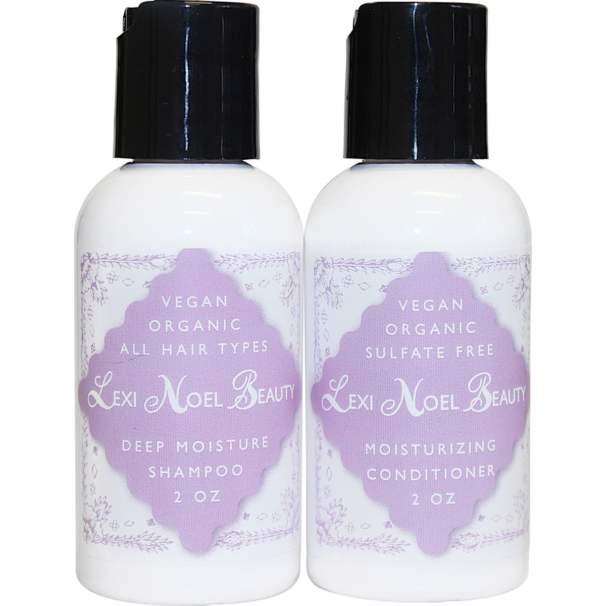 Lexi Noel Beauty Travel Size Shampoo and Conditioner - lexinoelbeauty.com
