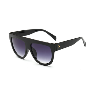 Flat Top Leopard Sunglasses