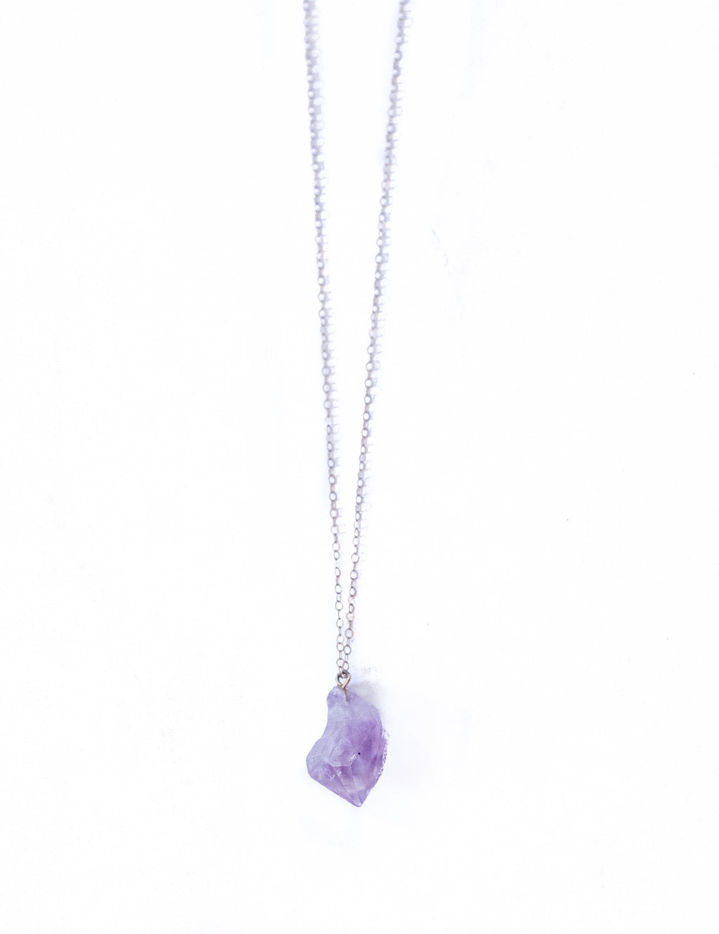 Amethyst Quartz Necklace February Birthstone Necklace