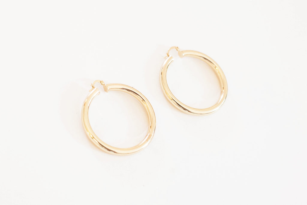 Gold Hoop Earrings Hoop Earrings
