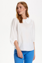 Federica cotton blouse in white