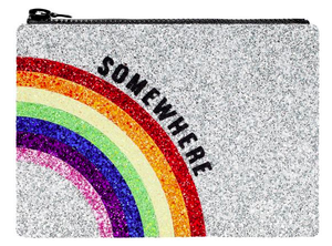 Somewhere glittery clutch by I Know the Queen