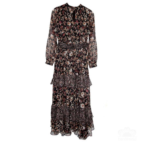 Romilly tiered maxi dress