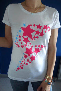 Star Bolt organic cotton tee