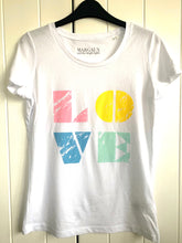 LOVE organic cotton tee