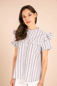 Elinor stripe shirt