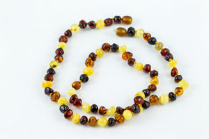 Healing Hazel Baltic Amber Adult Necklace