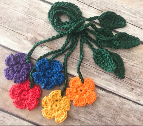 Flower Umbilical Cord Ties