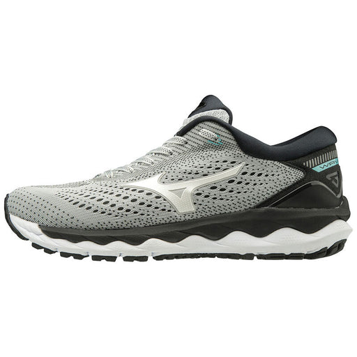 MIZUNO Wave Sky 3 W Shoes 02 GlacierGray/White/ASplash
