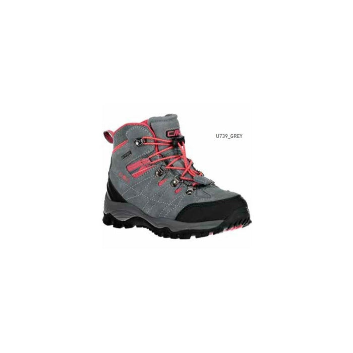 CMP Arietis Kids Trekking Shoes WP Boots U739 Grey
