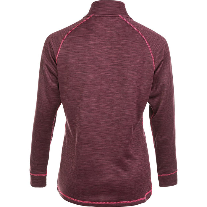 WHISTLER Bartlett W Melange Half Zip Ski Pulli Ski pulli 4157 Catawba Grape