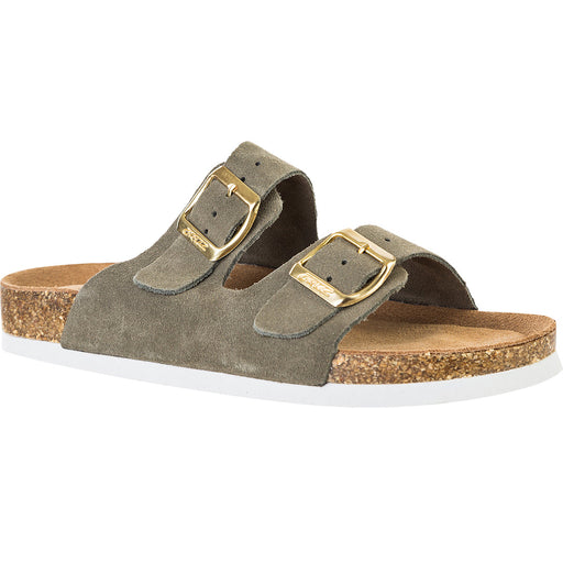 CRUZ Bastar W Cork Sandal Leather Sandal 3061 Ivy Green