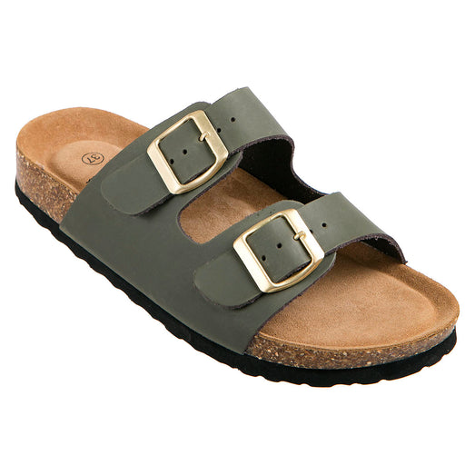 FORT LAUDERDALE Baste W Cork Sandal Leather Sandal