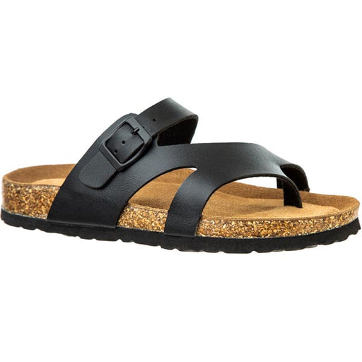 FORT LAUDERDALE Beach W Cork Sandal Sandal 1001 Black