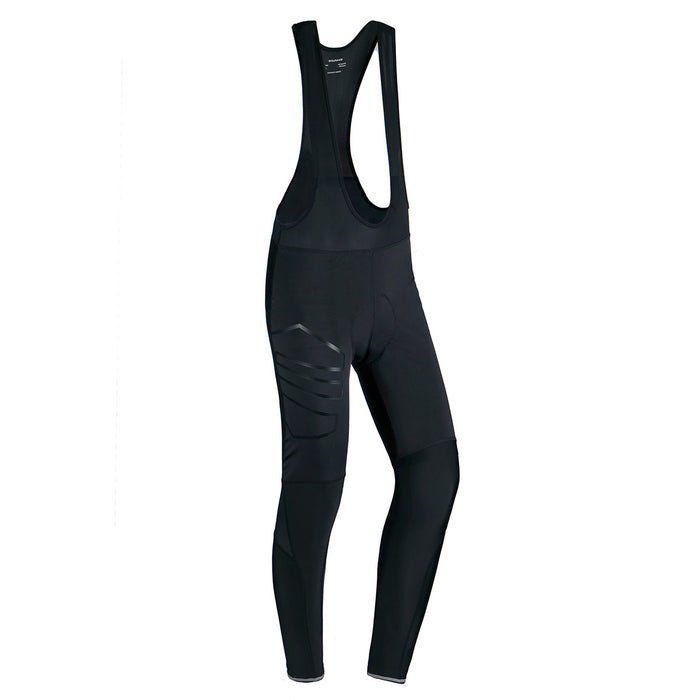 ENDURANCE Jayne W AY Long Windblock Cycling Tights W/Bib XQL Cycling 1001 Black