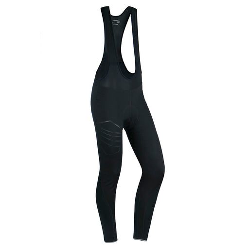 ENDURANCE Jayne W Long Windblock Cycling Tights W/Bib XQL Cycling 1001 Black