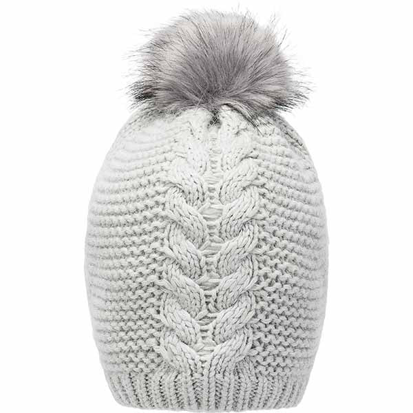 WHISTLER Carina Knitted Hat Hoods 1032 Gray Dawn