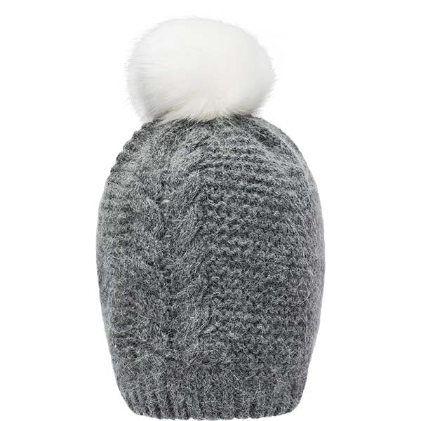 WHISTLER Carina Knitted Hat Hoods 5029 Dark Gull Gray