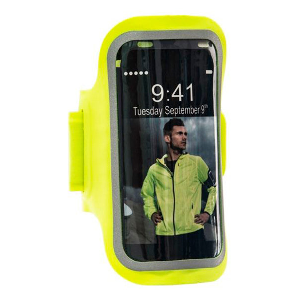 ENDURANCE Cave Ultra Thin Armband For I-Phone Accessories 5001 Safety Yellow