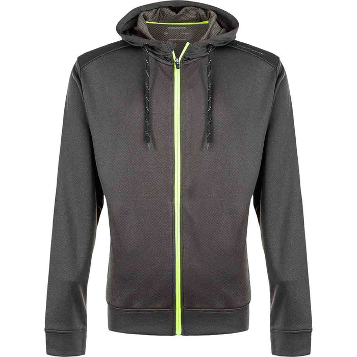 ENDURANCE Dereff M Full Zip Hoody Sweatshirt 3076 Pine Cole Green