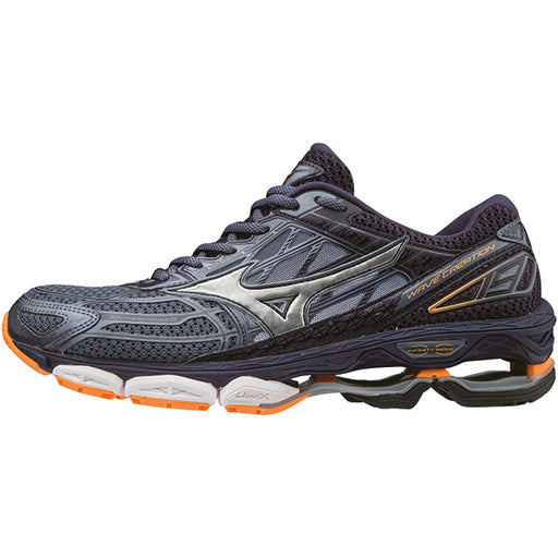 MIZUNO Wave Creation 19 M Shoes FGray/Silver/Eclipse
