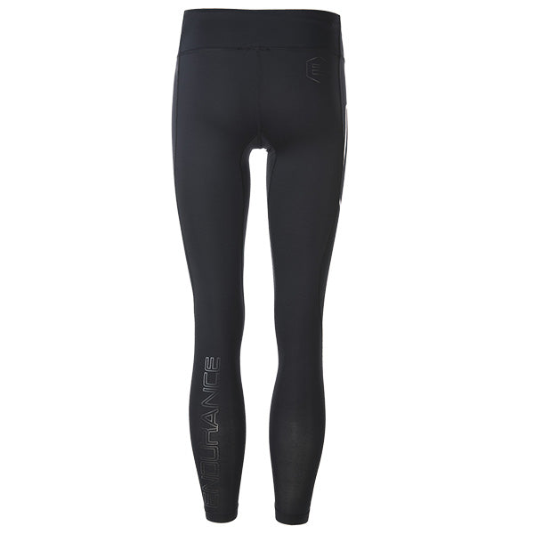 ENDURANCE Ferguston W Compression High Waist Long Tights Compression 1001 Black