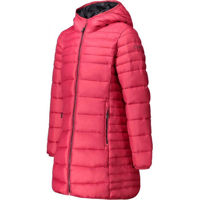 CMP Girl Coat Fix Hood Jacket B873 Magenta