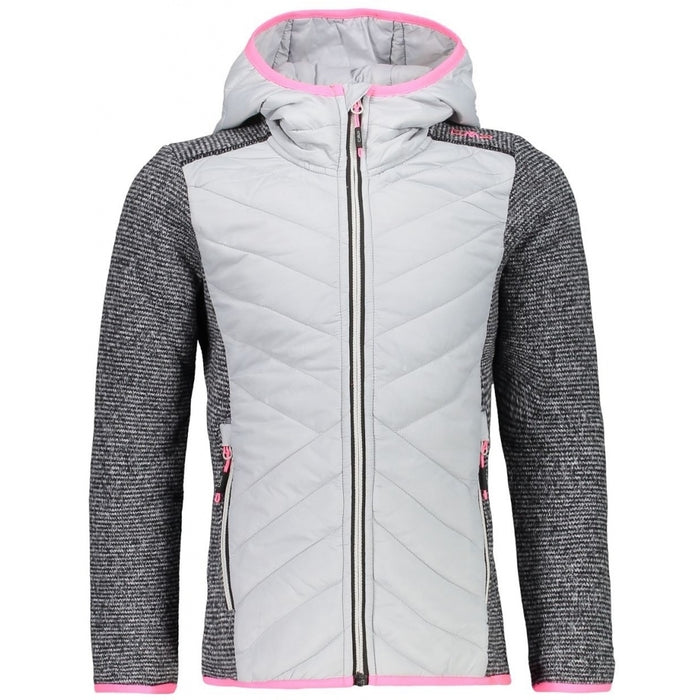 CMP Girl Jacket Fix Hood Jacket A440 Ice