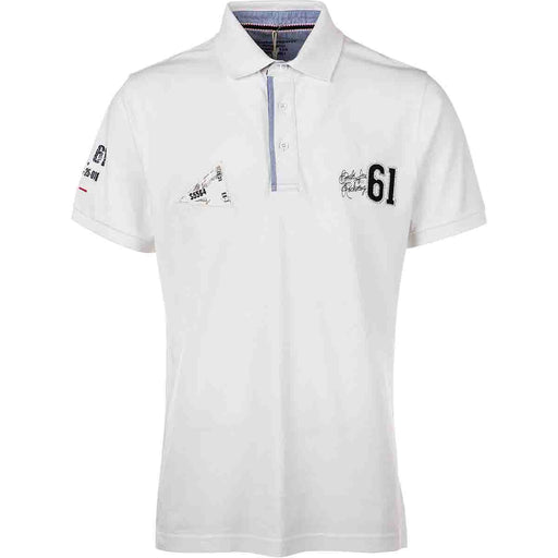 WEATHER REPORT Hartford M Pique Polo 000 White
