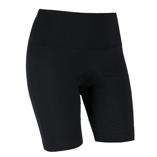 ENDURANCE Hulda High Waist Spinning Shorts Cycling 1001 Black