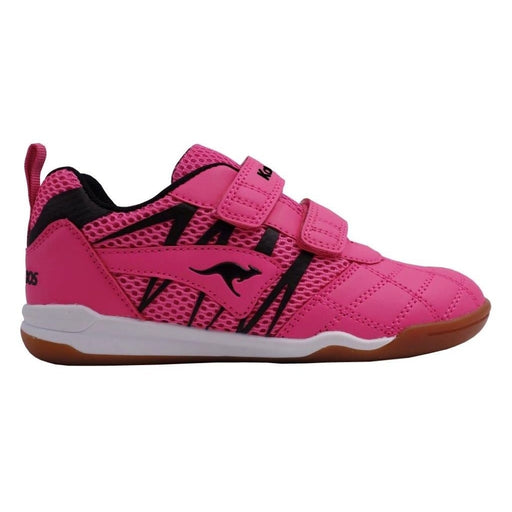 KangaROOS Court Comb V Shoes 6122 Daisy Pink/Jet Black