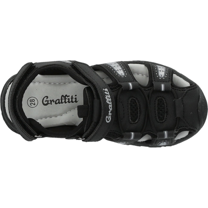 GRAFFITI Kama kids Sandal Sandal 1001 Black