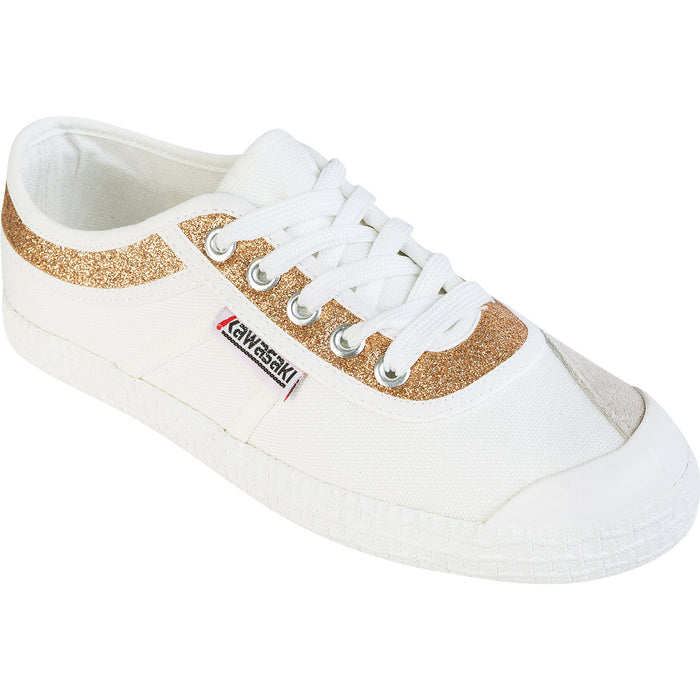 KAWASAKI Kawasaki Glitter Canvas Shoe Shoes 8890 gold