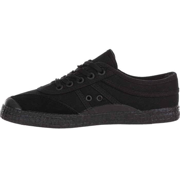 KAWASAKI Kawasaki Original Teddy Canvas Shoe Shoes 1001S Black Solid