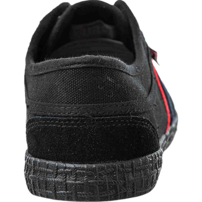 KAWASAKI Kawasaki Retro Canvas Shoe Shoes 1001S Black Solid