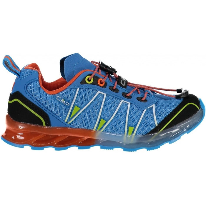 CMP Kids Altak Trail Shoe Shoes 34LC INDIGO-ORANGE